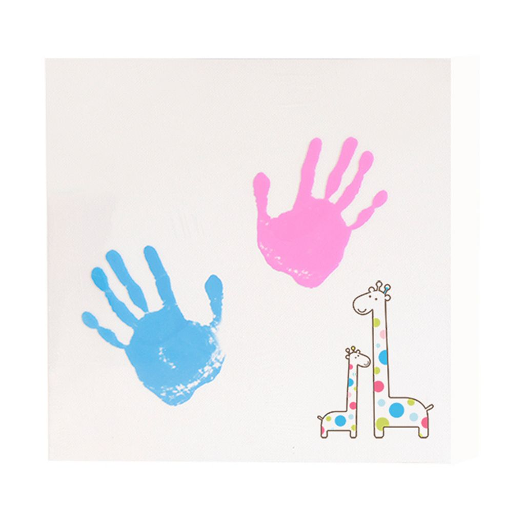 Pearhead Handprint Wall Art Set