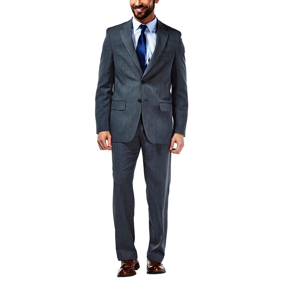 Suit jacket - Men S Haggar Travel Tailored Fit Graphite Performance Suit Jacket
