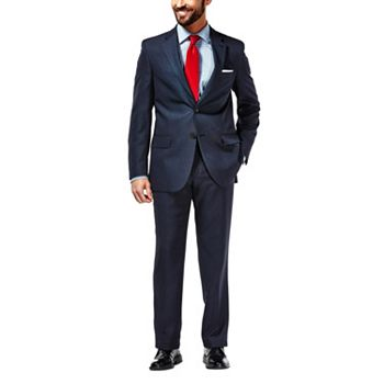 Haggar Travel Navy Suit Mens Jacket