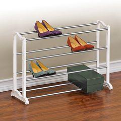 Lynk 20-Pair Shoe Rack by