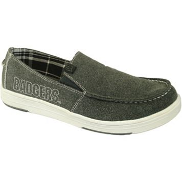Men's Wisconsin Badgers Sedona Slip-On Shoes
