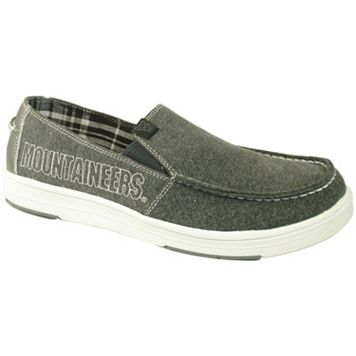 Men's West Virginia Mountaineers Sedona Slip-On Shoes