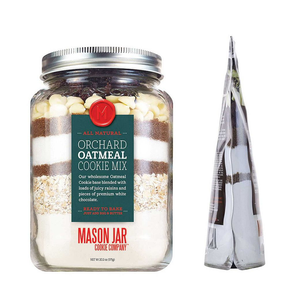 The Mason Jar Cookie Company 20.2-oz. Pouch Orchard Oatmeal Cookie Mix