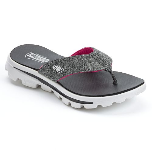 4b45add68af6 Skechers GOwalk Recover Women s Flip-Flops