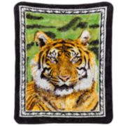 Tiger Hi Pile Luxury Throw