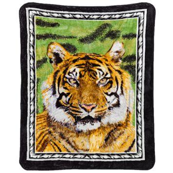 Tiger Hi Pile Luxury Throw