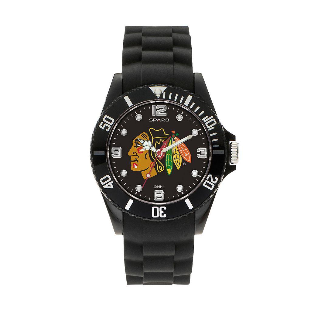 Sparo Men's Spirit Chicago Blackhawks Watch