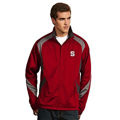 Men's Antigua North Carolina State Wolfpack Tempest Desert Dry Xtra-Lite Performance Jacket