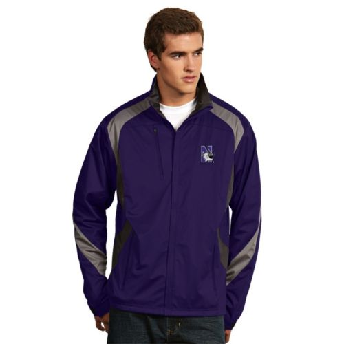 Men's Antigua Northwestern Wildcats Tempest Desert Dry Xtra-Lite Performance Jacket