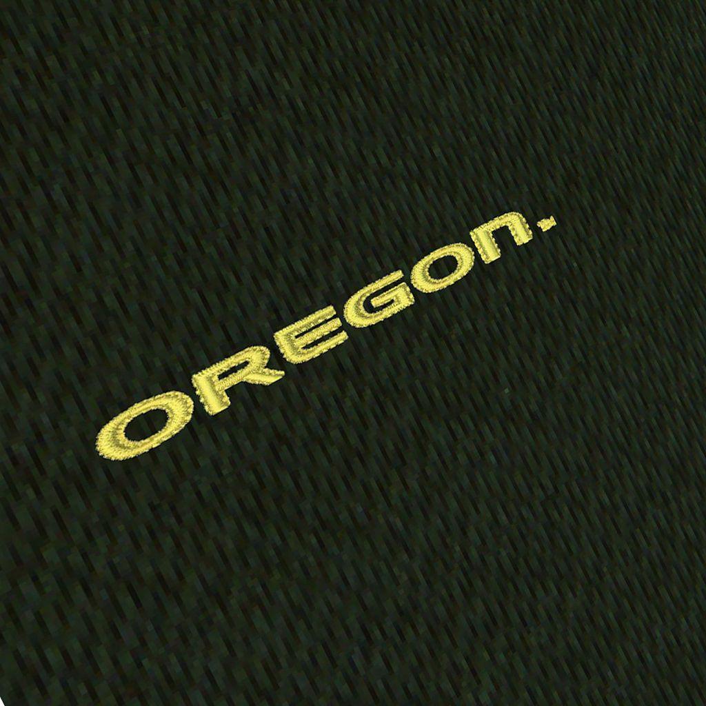 Men's Antigua Oregon Ducks Tempest Desert Dry Xtra-Lite Performance Jacket