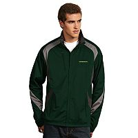 Men's Antigua Oregon Ducks Tempest Desert Dry Xtra-Lite Performance Jacket
