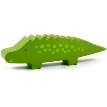Pearhead Wooden Alligator Bank