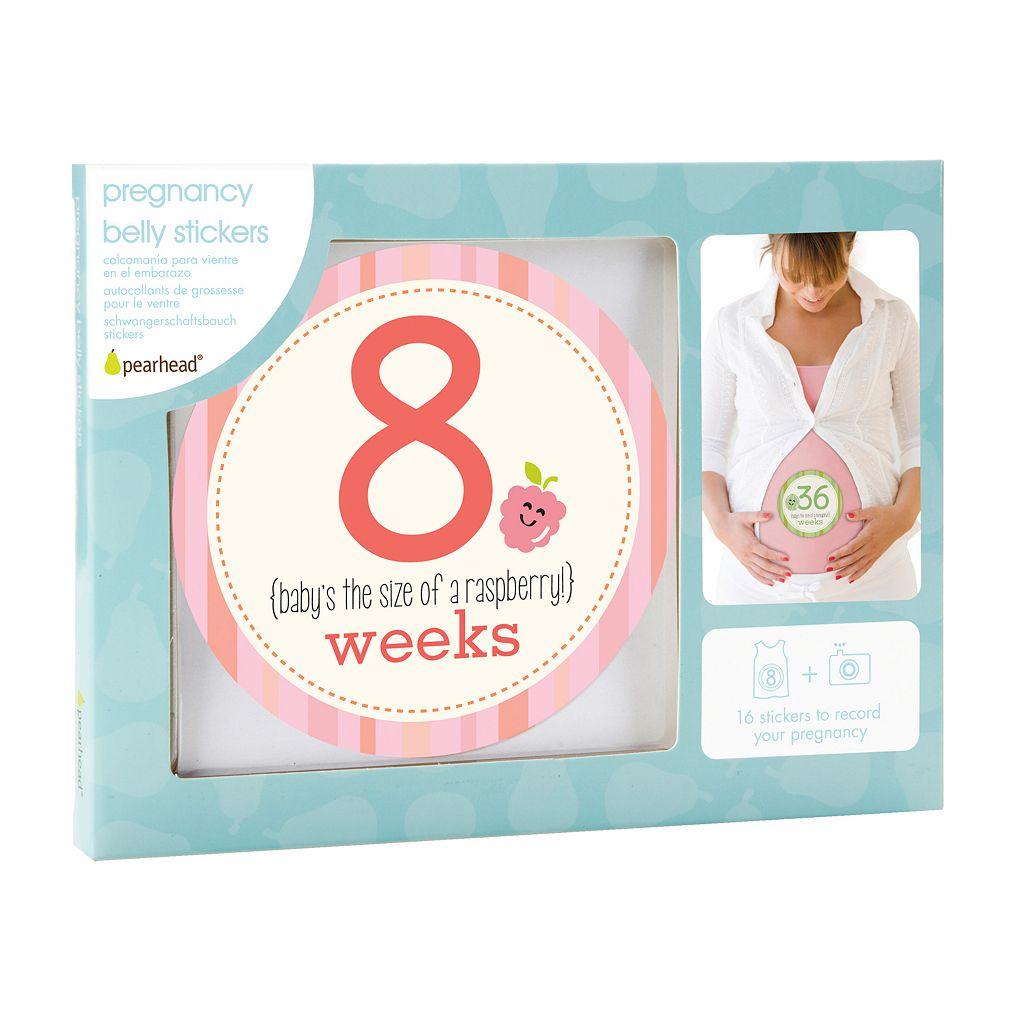 Pearhead Pregnancy Milestone Belly Stickers