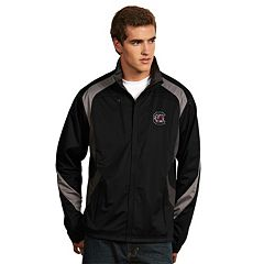 Men's Antigua South Carolina Gamecocks Tempest Desert Dry Xtra-Lite Performance Jacket