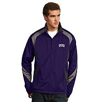 Men's Antigua TCU Horned Frogs Tempest Desert Dry Xtra-Lite Performance Jacket