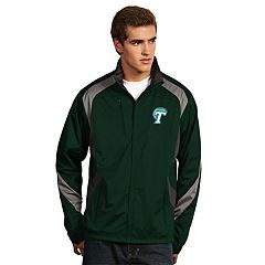 Men's Antigua Tulane Green Wave Tempest Desert Dry Xtra-Lite Performance Jacket