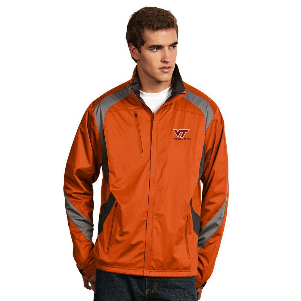 Men's Antigua Virginia Tech Hokies Tempest Desert Dry Xtra-Lite Performance Jacket