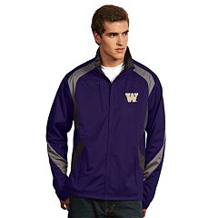 Men's Antigua Washington Huskies Tempest Desert Dry Xtra-Lite Performance Jacket