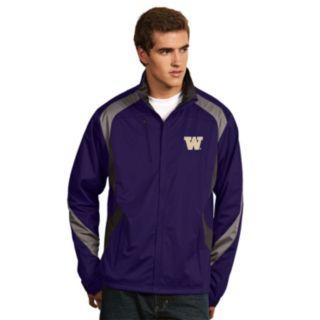 Men's Antigua Washington Huskies Tempest Desert Dry Xtra-Lite Performance Jacket
