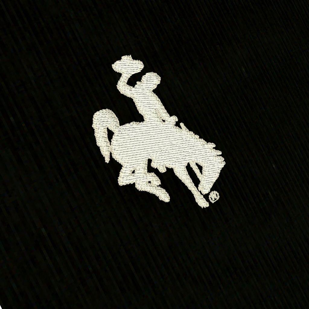 Men's Antigua Wyoming Cowboys Tempest Desert Dry Xtra-Lite Performance Jacket