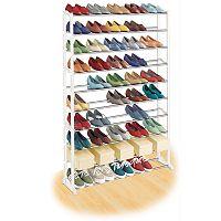 Lynk® 50-Pair Shoe Rack