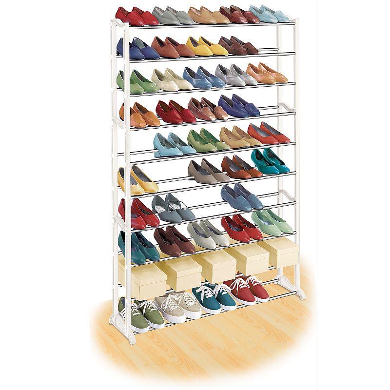 Lynk 50-Pair Shoe Rack