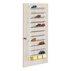 Lynk 36-Pair Over-the-Door Shoe Rack by