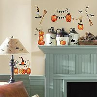 Halloween Pumpkin Wall Decals