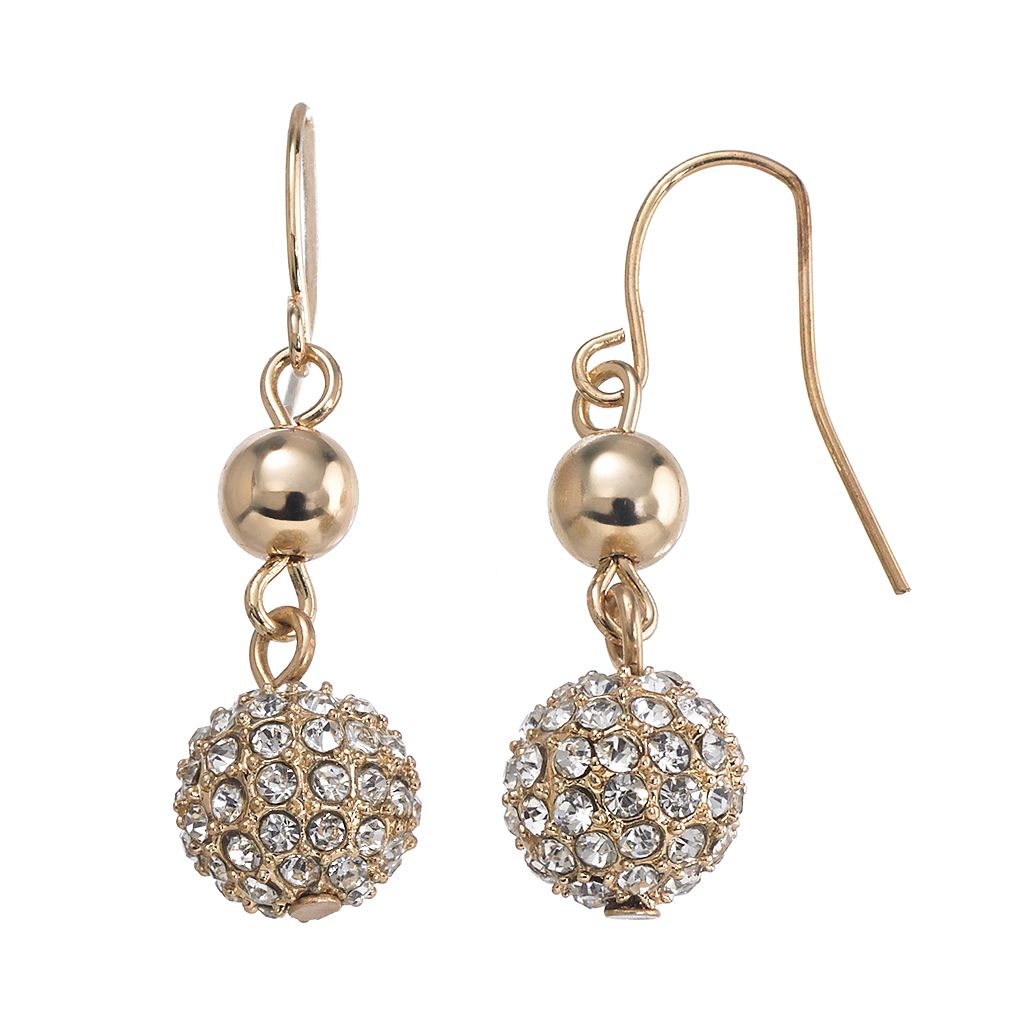 Chaps Bead Drop Earrings
