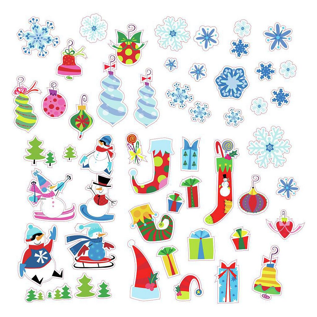 Let it Snow Christmas Wall Decals