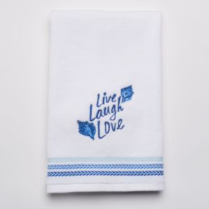 SONOMA Goods for Life™ Seabrook ''Live Laugh Love'' Hand Towel