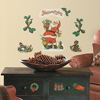Santa Claus Christmas Wall Decals