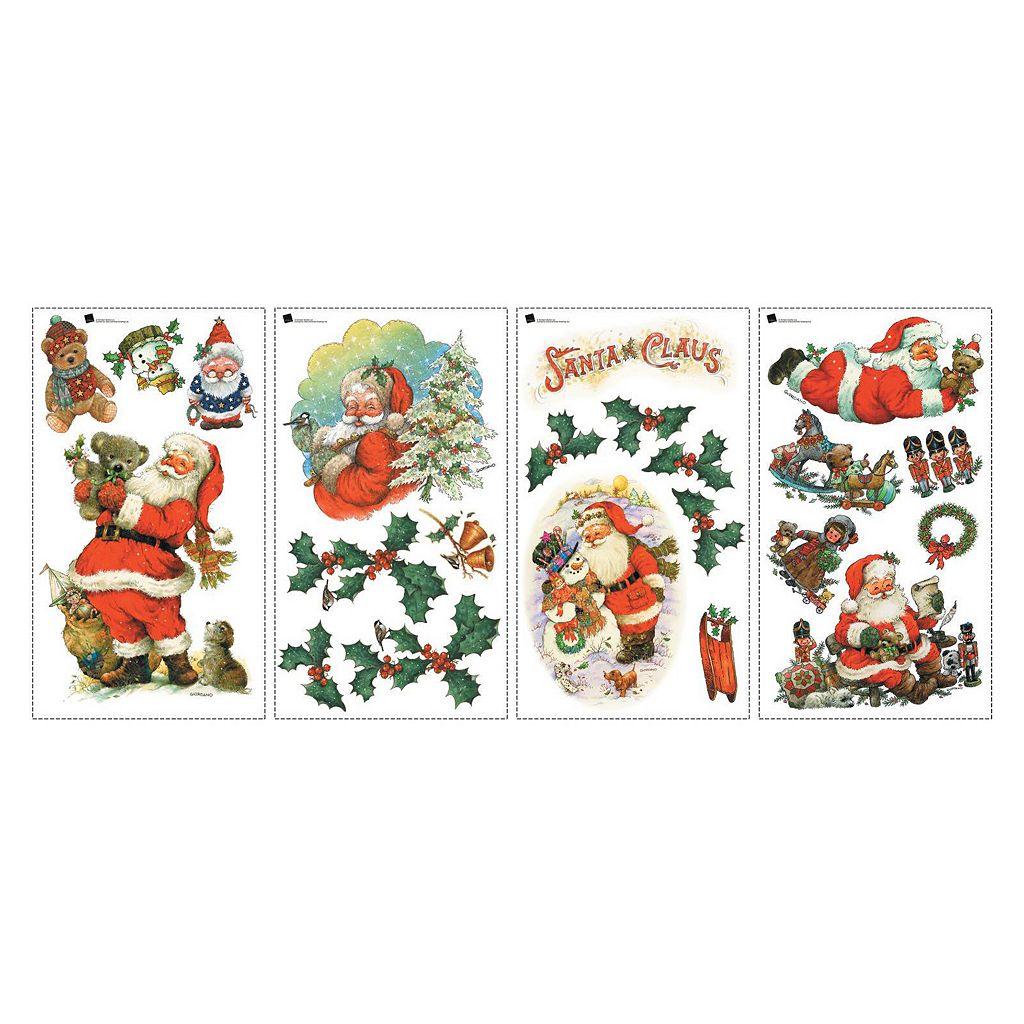 Santa Claus Christmas Wall Decals