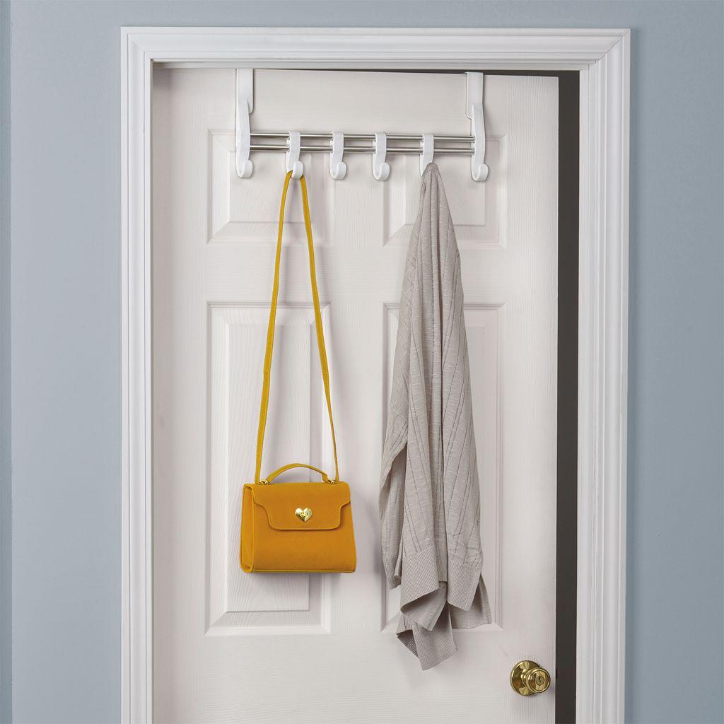 Lynk Over-the-Door Adjustable 6-Hook Hanger