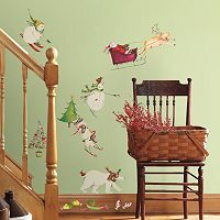 Snowman Christmas Wall Decals