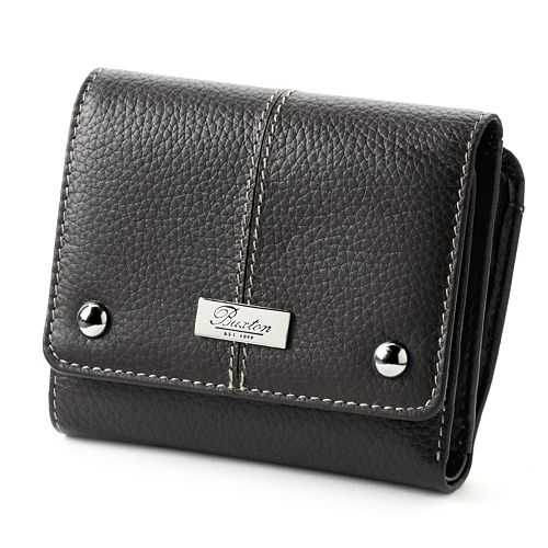 Buxton Westcott Zip French Purse Leather Wallet d9967605fa868