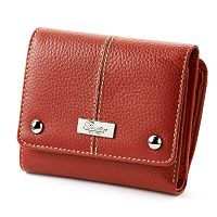 Buxton Westcott Zip French Purse Leather Wallet