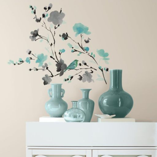Blossom Watercolor Wall Decals