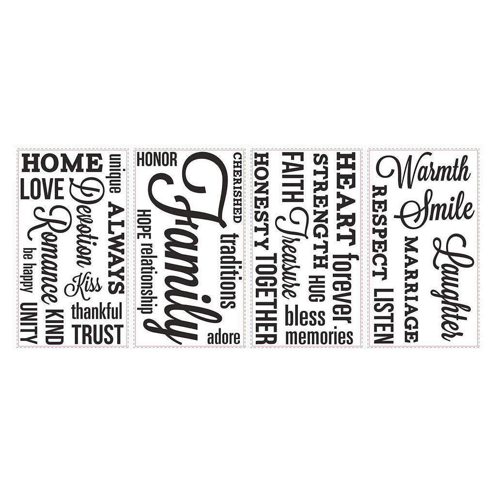 Family Forever Wall Decals