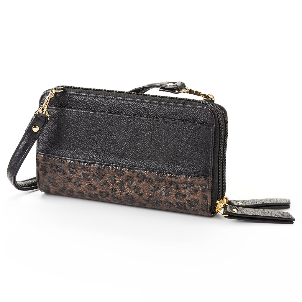 Buxton Posh Cheetah Ultimate Convertible Wallet