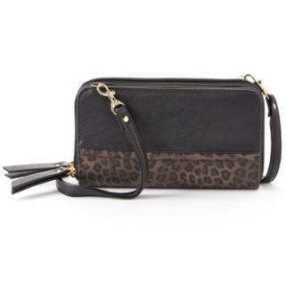 Buxton Posh Cheetah Ultimate Convertible Wallet