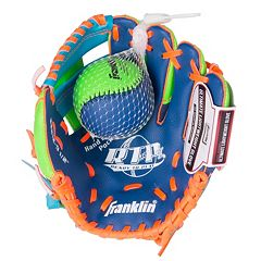 Franklin Sports Meshtek Series 9.5-in. Right Hand Throw T-Ball Glove & Ball Set - Youth