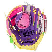 Franklin Meshtek Series 9.5-in. Right Hand Throw T-Ball Glove & Ball Set - Youth