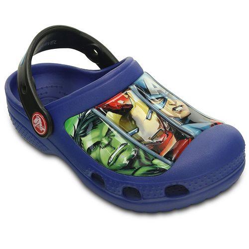 e9c0b1c5df989 Crocs The Avengers Toddler Boys' Clogs