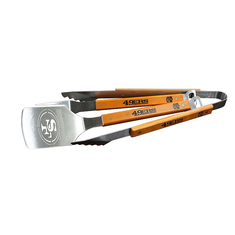 Sportula Products San Francisco 49ers 3-pc. Grilling Utensil Set