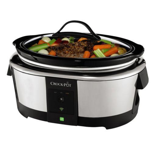 Crock-Pot 6-qt. WeMo Smart Slow Cooker