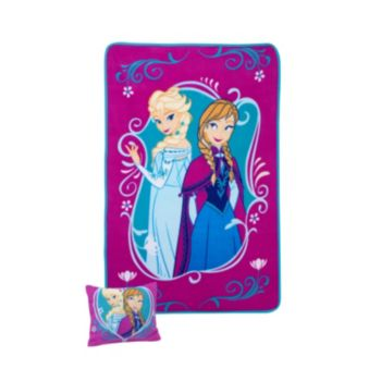Disney Frozen Pillow and Blanket Set - Toddler