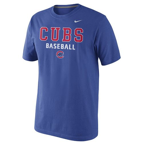Nike Chicago Cubs Practice Tee 1.5 - Men