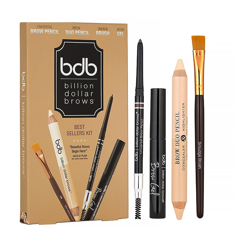 Billion Dollar Brows 4 Pc Eyebrow Kit