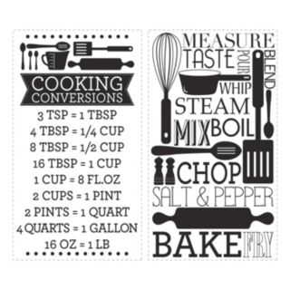 Cooking and Baking Wall Decals